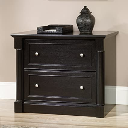 Sauder Avenue Eight  Drawer File Cabinet In Wind Oak