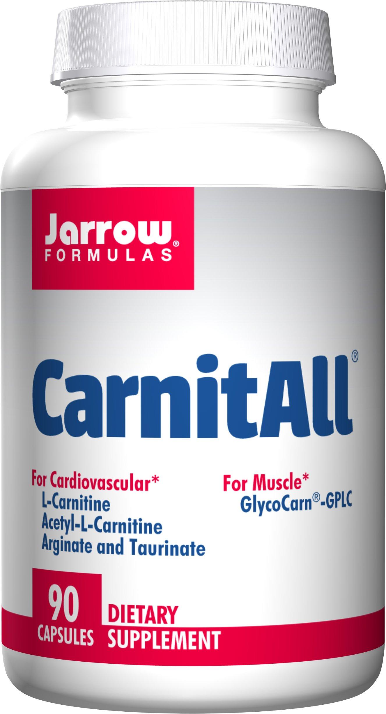Jarrow Formulas CarnitAll, Supports Muscular and Cardiovascular Health, 90 Caps