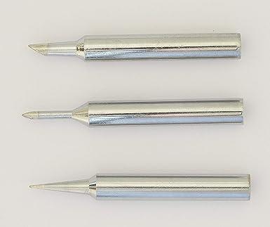 Antex MMF00J0 XS - Juego de 3 puntas de destornillador (51, 53 y 55