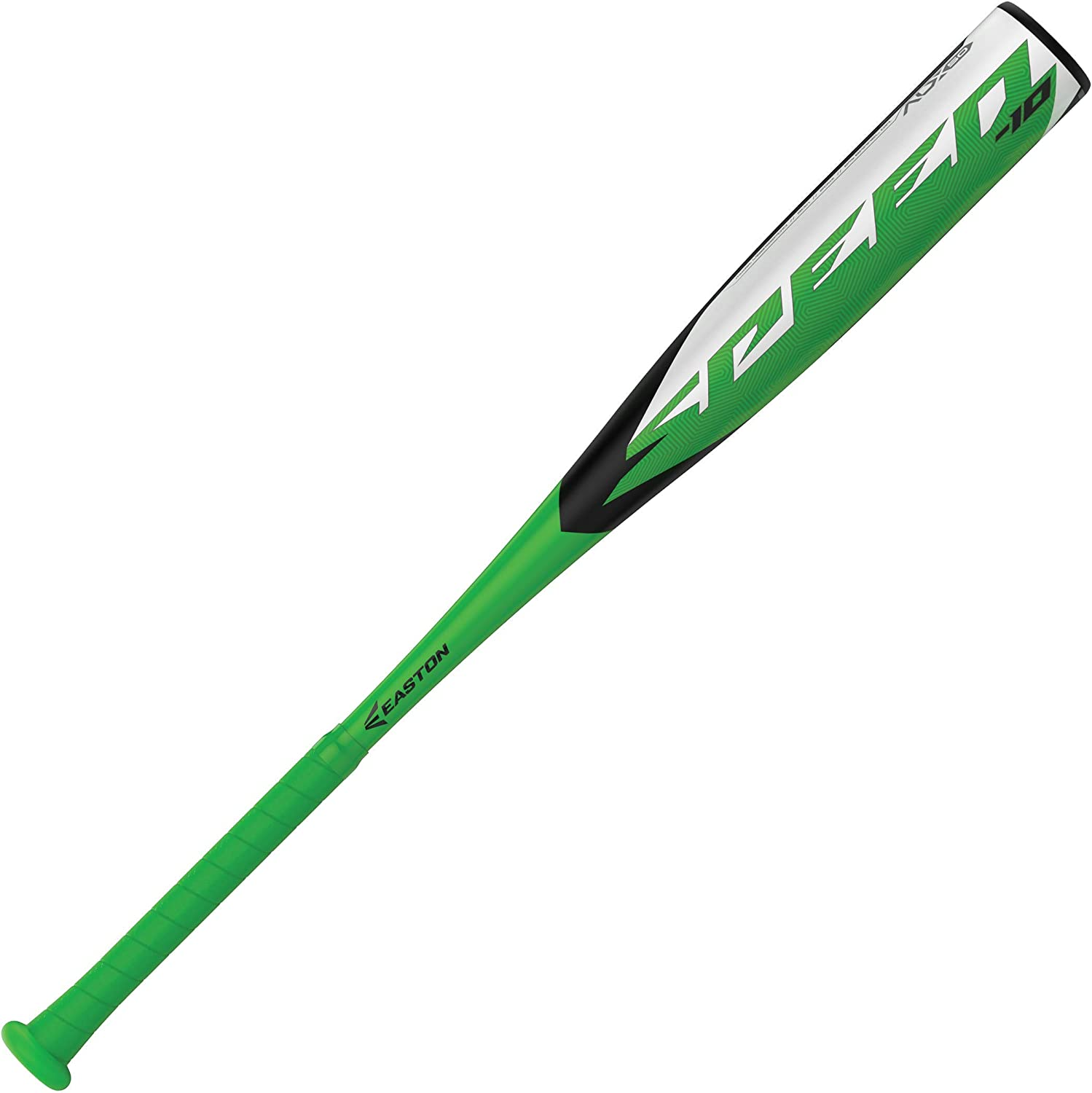 Easton Speed -10 USA Youth Baseball Bat, 2 5/8 inch Barrel, 2020, 1 Piece Aluminum, Lightweight ALX50 Military Grade Alloy, Pro Style Concave End Cap, Cushioned 2.2mm Flex Grip