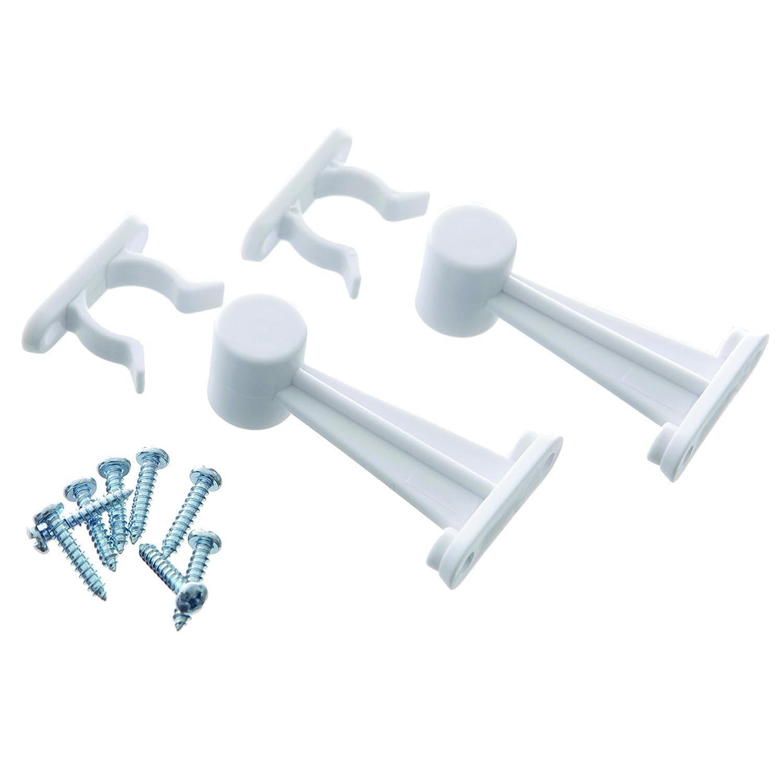 Dreambaby Door Catch (Pack Of 2, White) Dreambaby® F127