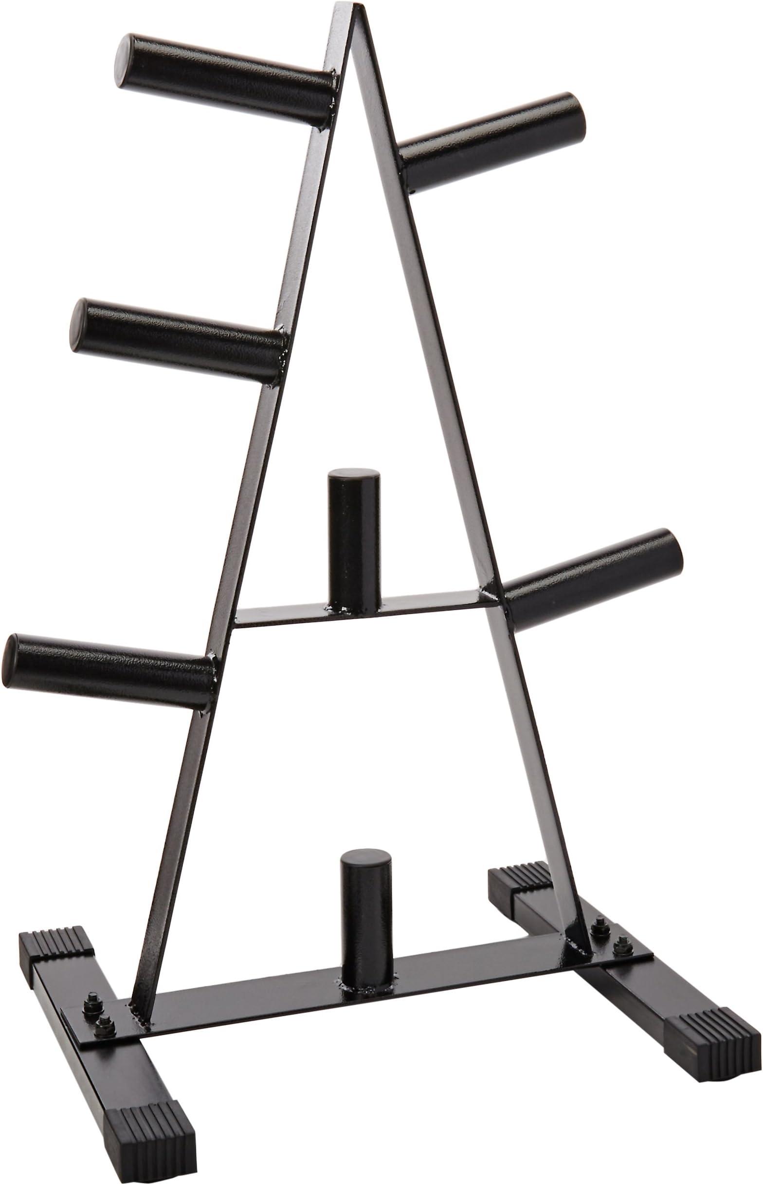 CAP Barbell Olympic 2-Inch Plate Rack  sc 1 st  Amazon.com & Weight Racks | Amazon.com