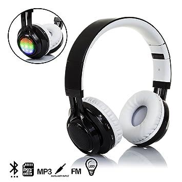 DAM. DMX017BKWH. Cascos Bluetooth con Radio Incorporada ...