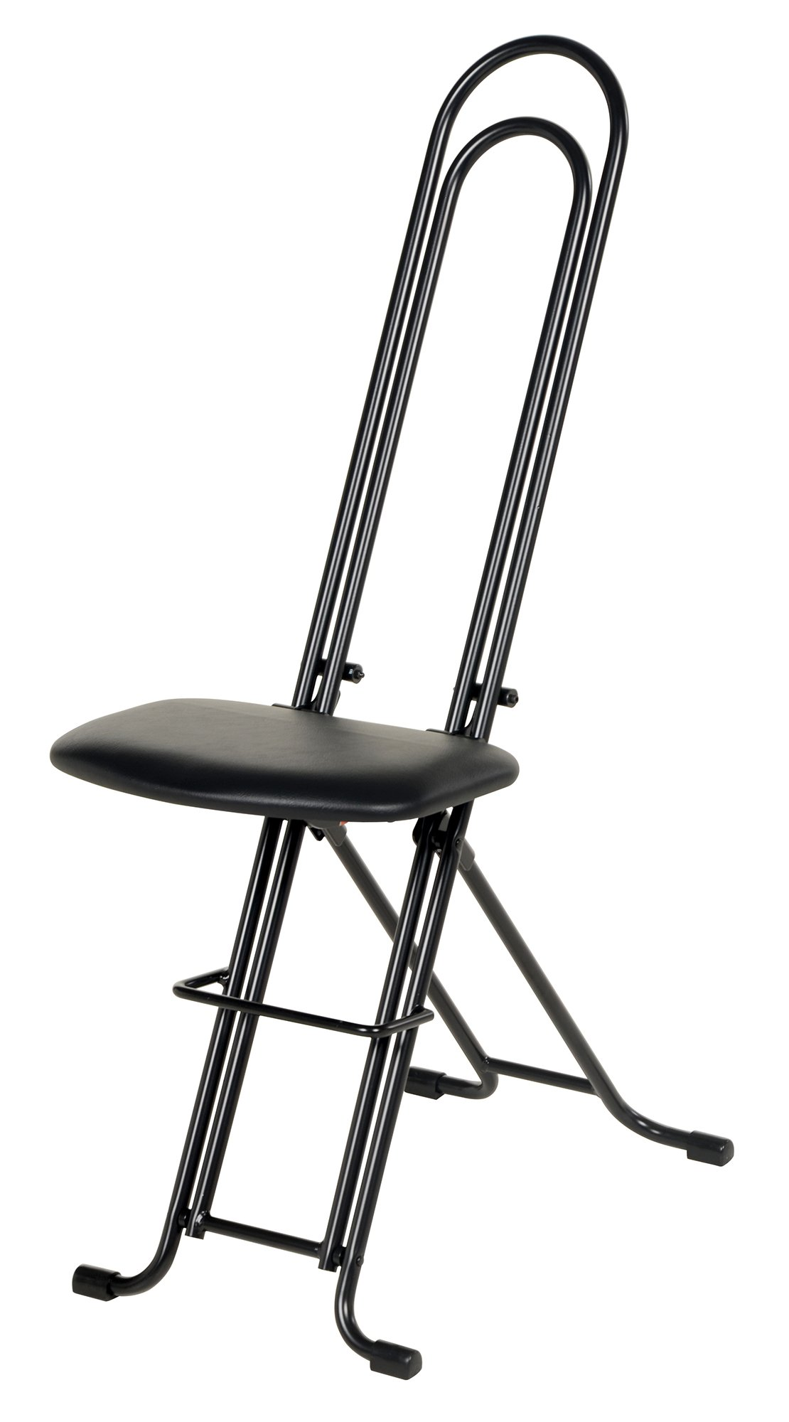 Vestil CPRO-800LP Ergonomic Worker Seat/Chair, 13-1/2'' Width, 10'' Depth, 300 lb. Capacity, 18'' - 33'' Height Range by Vestil (Image #1)