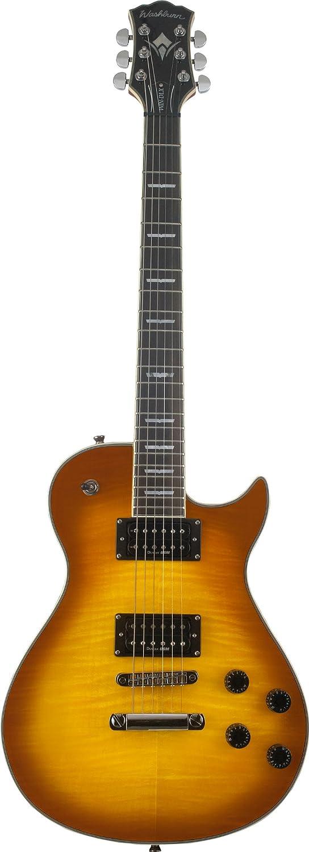 Washburn ワッシュバーン WINDLXFTSB Single Cut Flame Tobacco SB エレキギター エレキギター エレクトリックギター (並行輸入) B0061NT9BG