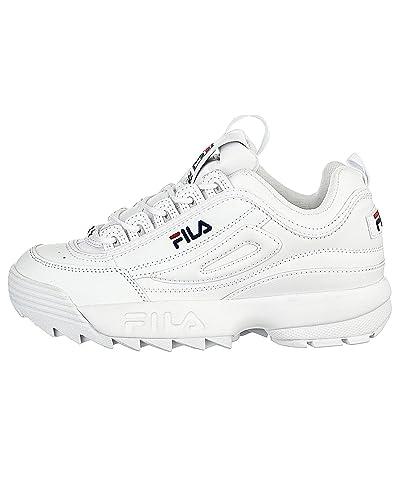 7e6da613280d FILA Porte Perturbateurs II Baskets - Blanc - Blanc