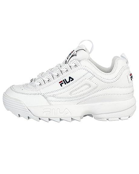 Fila - Zapatillas para mujer, color Blanco, talla 39 UE: Amazon.es: Zapatos y complementos