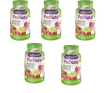 Vitafusion Prenatal, Vitaminas Gummy, 90 unidades, 3Pack (90Count): Amazon.es: Deportes y aire libre