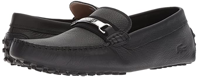 Amazon.com | Lacoste Mens Ansted Driving Style Loafer | Loafers & Slip-Ons