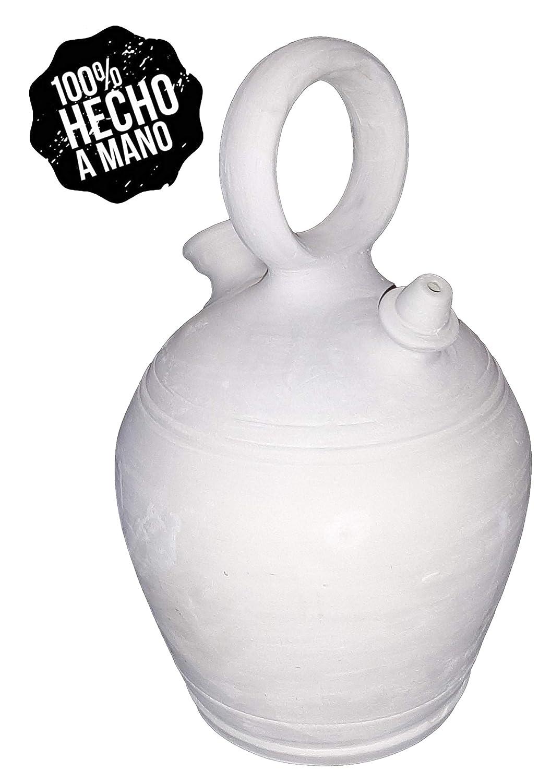 Botijo 3.25 litros Artesanal 100%,Hecho en España Dispensador de ...