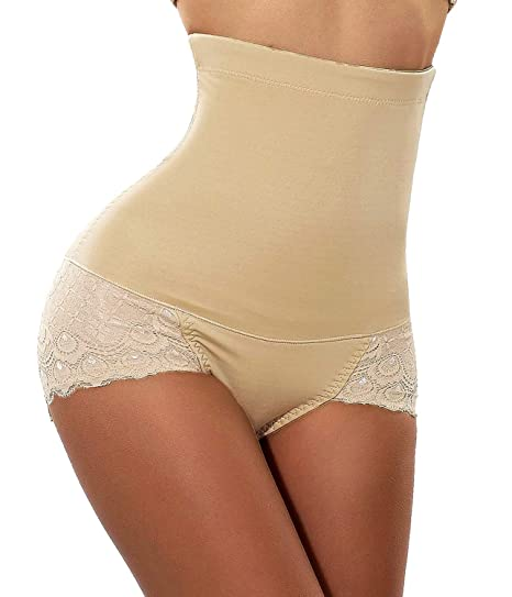 718a1c7cd JANSION High Waisted Tummy Control Butt Lifter Panty Body Shaper Slimmer  Thong Shapewear