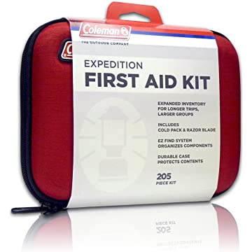 mini Coleman Camping First Aid Kit an All Purpose First Aid Kit for Emergencies at Home