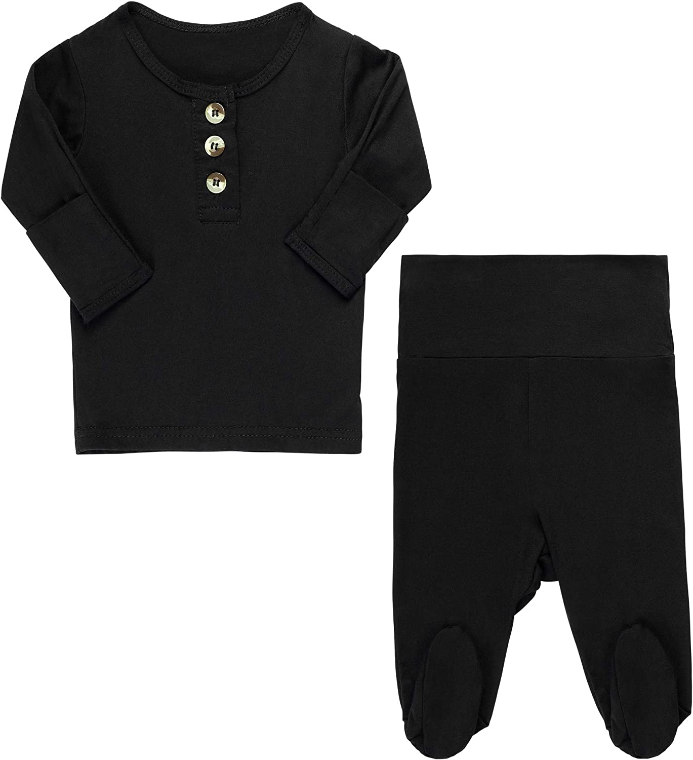 Top + Bottom Unisex Going Home Outfit Baby Boy - Girl | Newborn Boy Take Home Outfit Set