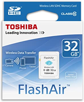 Amazon.com: Toshiba 32 GB SDHC FlashAir inalámbrico WiFi ...
