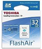 Toshiba 32GB FlashAir SDHC Wireless Wi-Fi Memory Card Model SD-R032GR7AL03A
