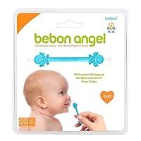 Bebon Angel – der bessere Nasenreiniger und Ohrenreiniger für Babys   Sichtbar wirksamer als Nasensauger/Nasensekretsauger