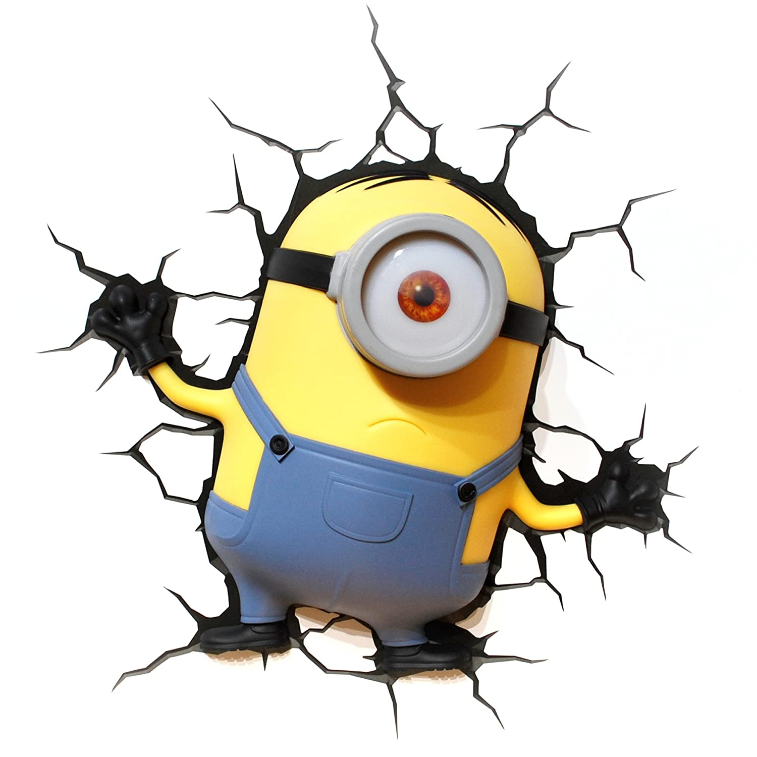 Amazon.com: 3DLightFX Minions Stuart 3D Deco Light: Toys & Games