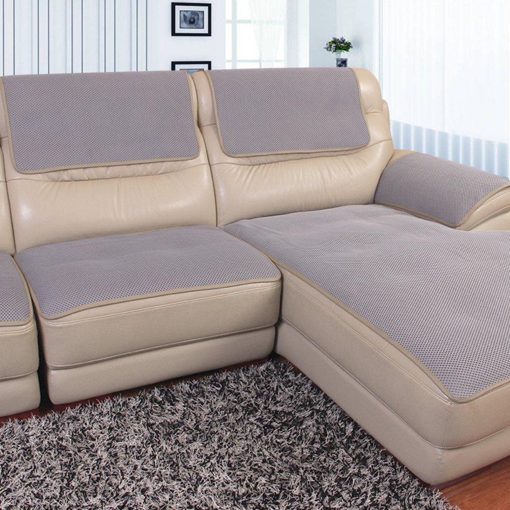 BKRLDEKVG Volltonfarbe sofabezug,Leder sofakissen Anti-Schleudern Vier Jahreszeiten Universal Tuch Tuch Tuch Europäische Kunst Einfach modern Sofa-D 70x150cm(28x59inch) 7e8bfc