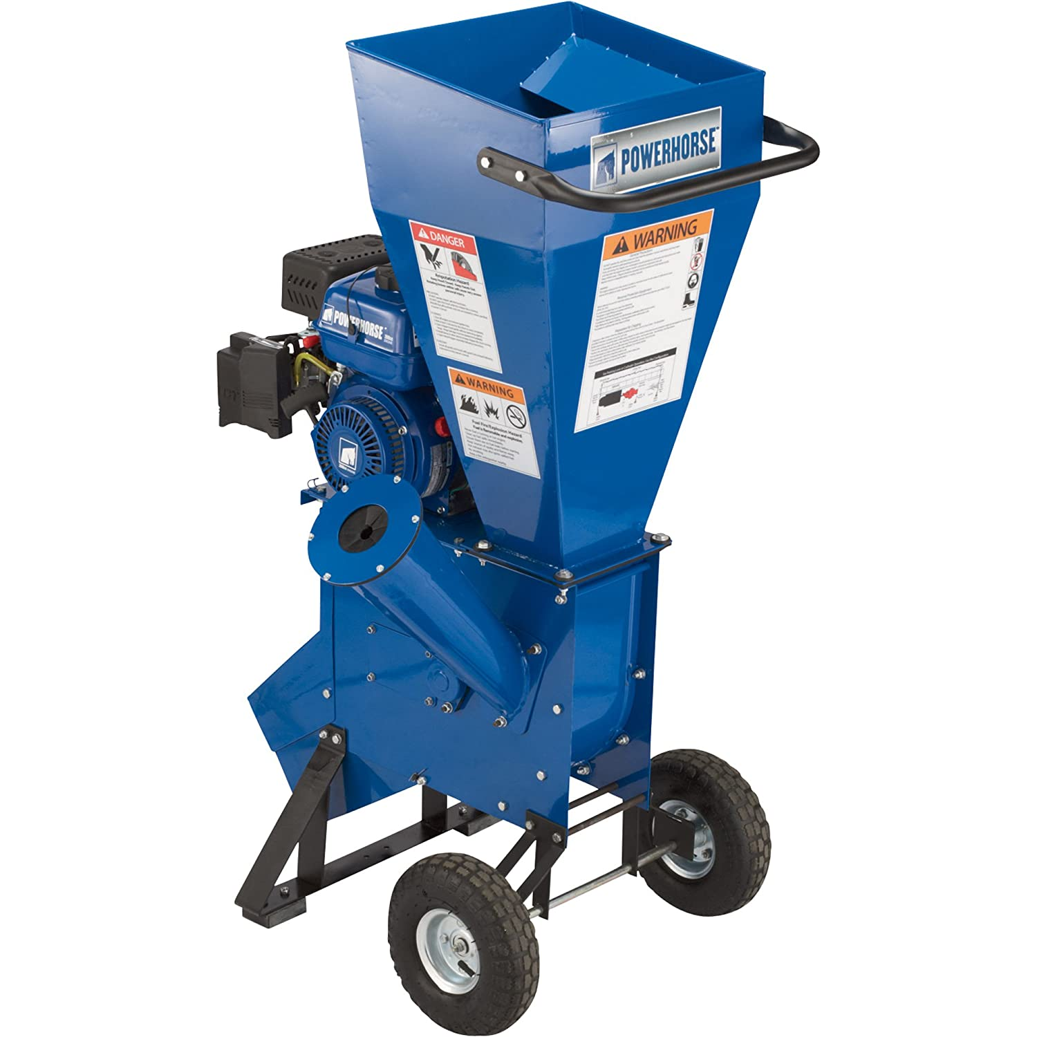 Powerhorse Chipper Shredder 208cc Ohv Engine Wiring Diagram 3in Capacity Lawn And Garden Chippers Outdoor