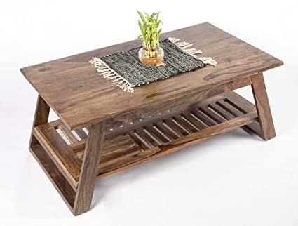 ikiriya sheesham solid wood coffee table center table living room rh amazon in