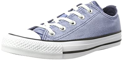 1c597e9b56f25 Converse Unisex Adults' CTAS Ox Midnight Navy White Trainers: Amazon ...