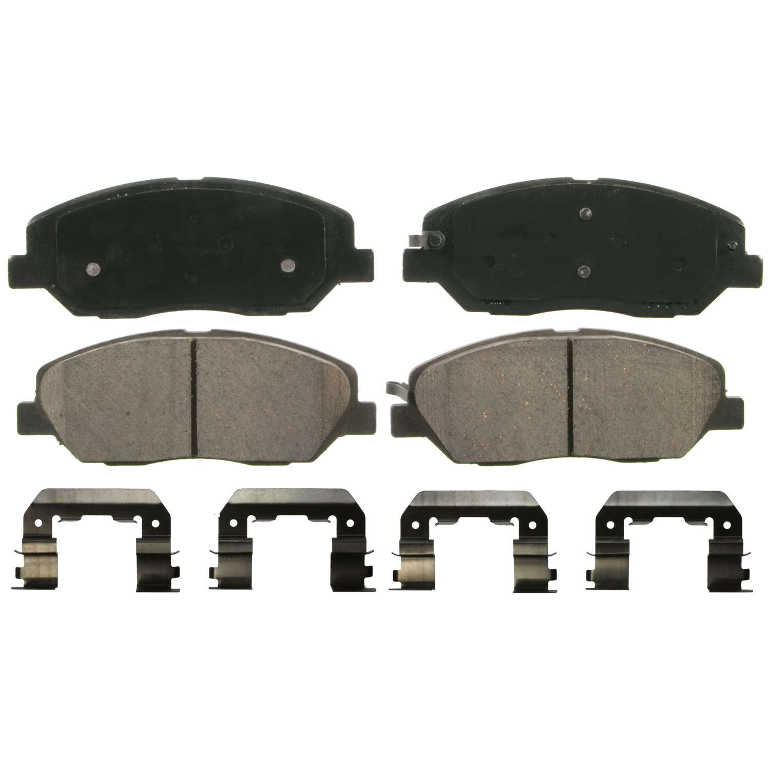 Wagner QuickStop ZD1202 Ceramic Disc Pad Set Includes Pad Installation Hardware, Front Wagner Brake