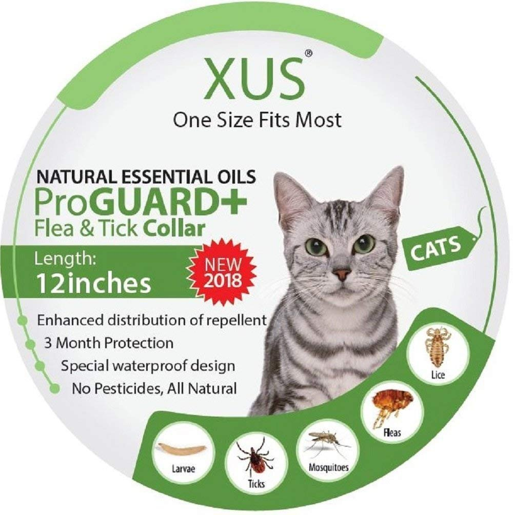 XUS Flea & Tick Collar (Cat - (1 Size Fits Most))