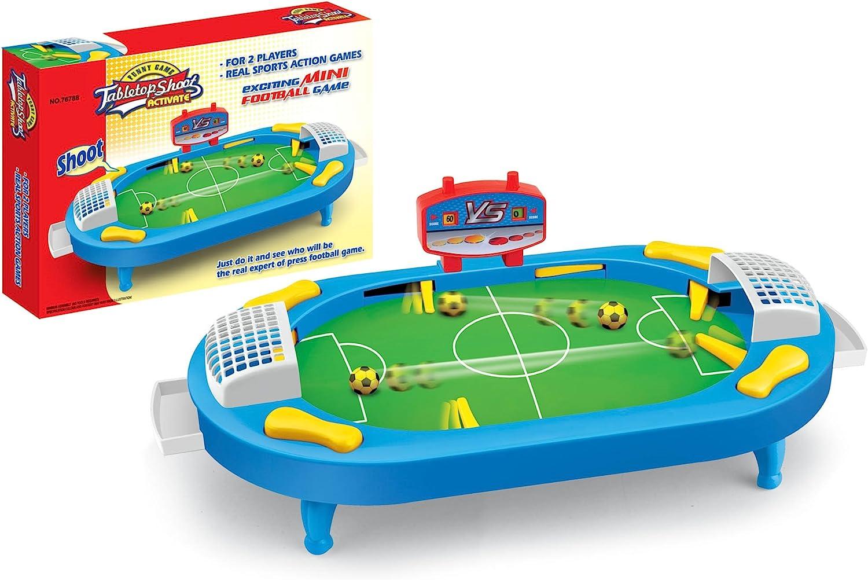 NEO+- Juego de Mesa Pinball de Futbol (76788): Amazon.es: Juguetes ...