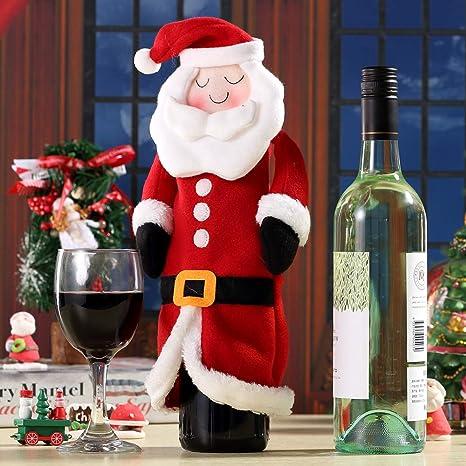Gifts Treat Navidad Botella de Vino Tinto Bolsas de Cubierta ...
