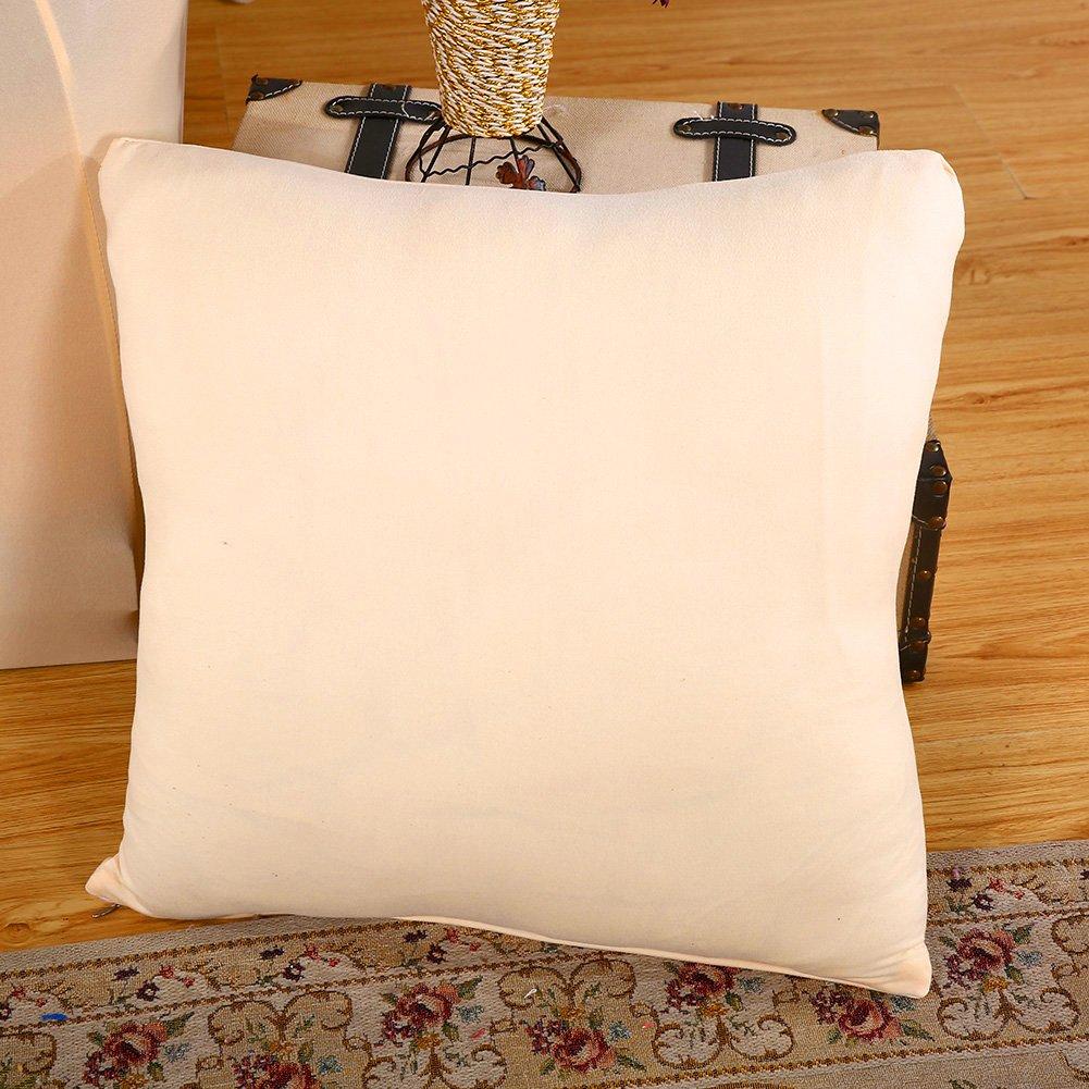 Facile da Montare 1 Seater Beige hengweiuk in Tessuto Elasticizzato plastica copridivano Spesso in Tinta Unita Elasticizzato 35-55 Inches Antiscivolo