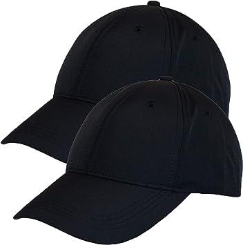 Dazoriginal Gorra de Beisbol Hombre Plana Military Cap Sombrero Boina Mujer Army (2 Pack Negro): Amazon.es: Deportes y aire libre
