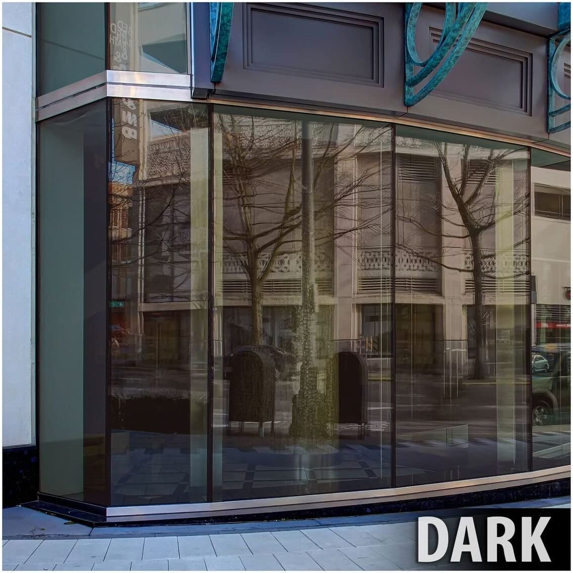 BDF PRBR Window Film Premium Color High Heat Control and Daytime Privacy Bronze 48in X 50ft