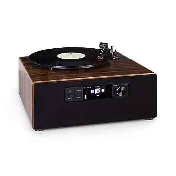 auna Connect Vinyl Cube Tocadiscos: Amazon.es: Electrónica