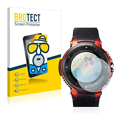 BROTECT Protector Pantalla Mate para Casio Pro Trek Smart ...