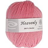 Elegant Yarns Heavenly Yarn, Rose Pink