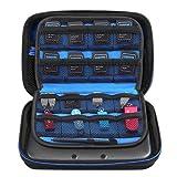 Simboom Tragetasche Schutzhülle für Neu Nintendo 3DS XL / 3DS Hart Tasche Hülle Schützende Reise-Set Zubehör-Etui für Nintendo Konsole