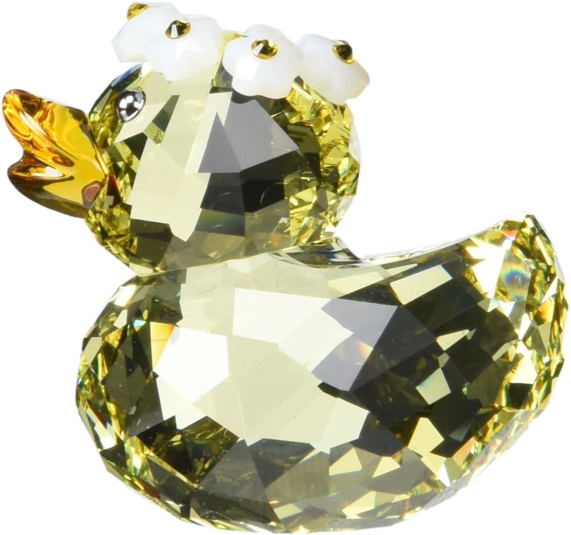 SWAROVSKI Happy Duck Charming Daisy Figurine