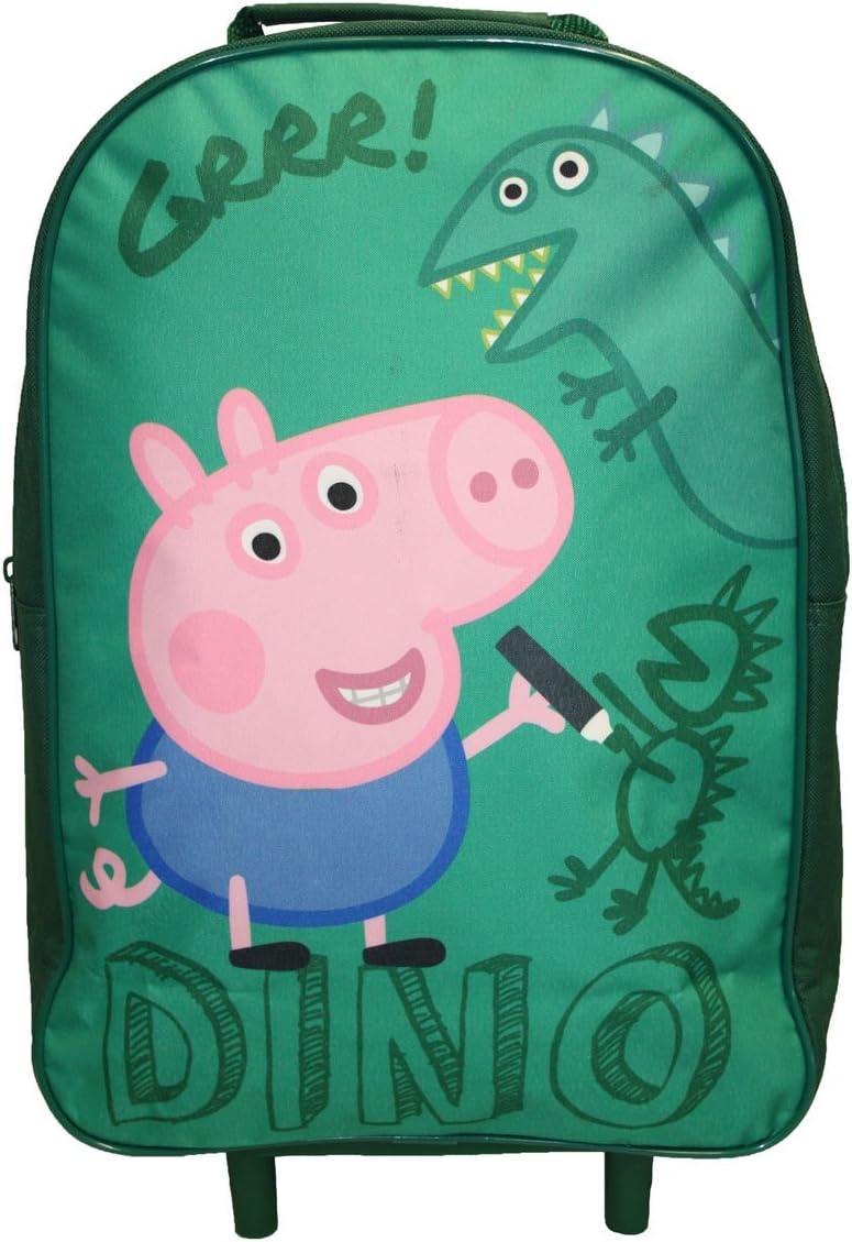 Vert Peppa Pig Sac /à roulettes pour Enfant Bagages 40/cm