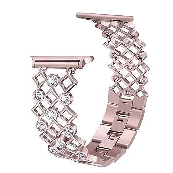 Bracelet Apple Watch 4 40mm Rose Gold,Bracelet Femme Apple Watch 38mm Or  Rose Bracelet