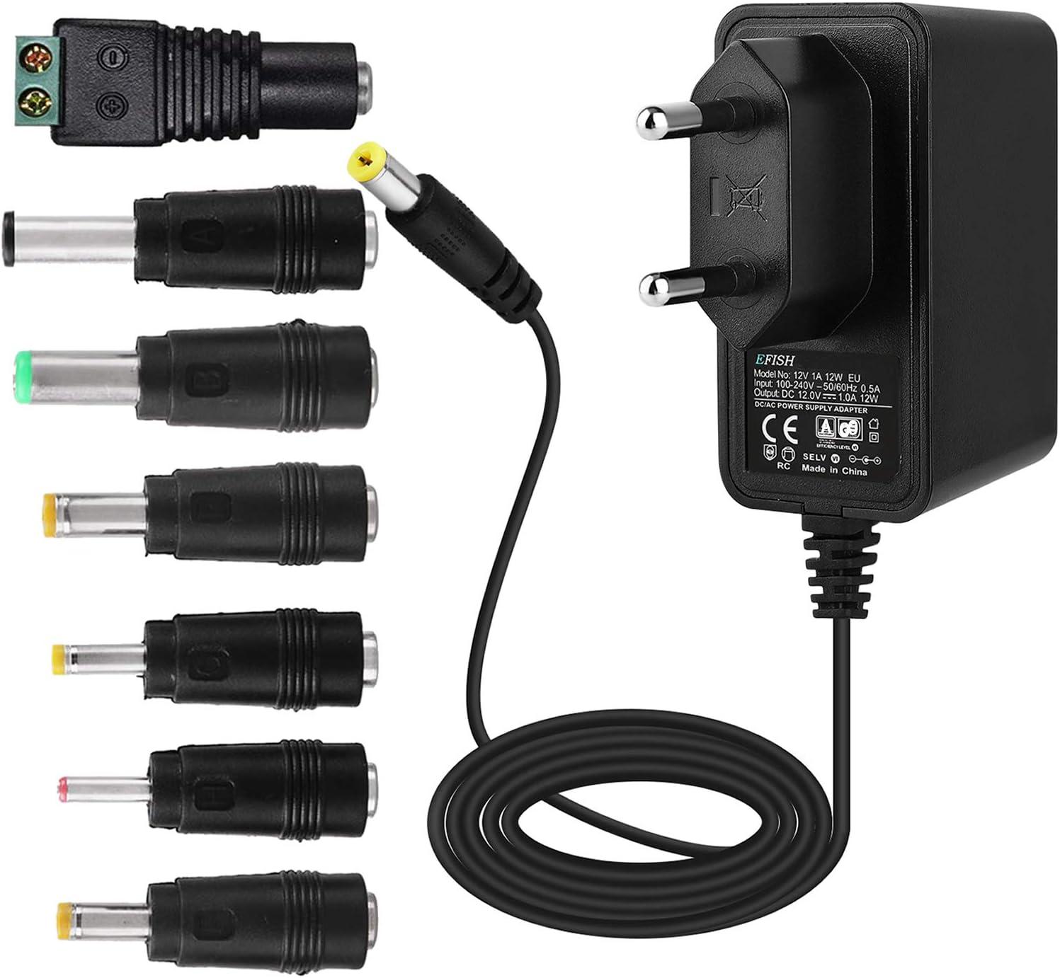 Efish 12v 1a 12w Trafo Liefern Netzteil Netzstecker Für Elektronik