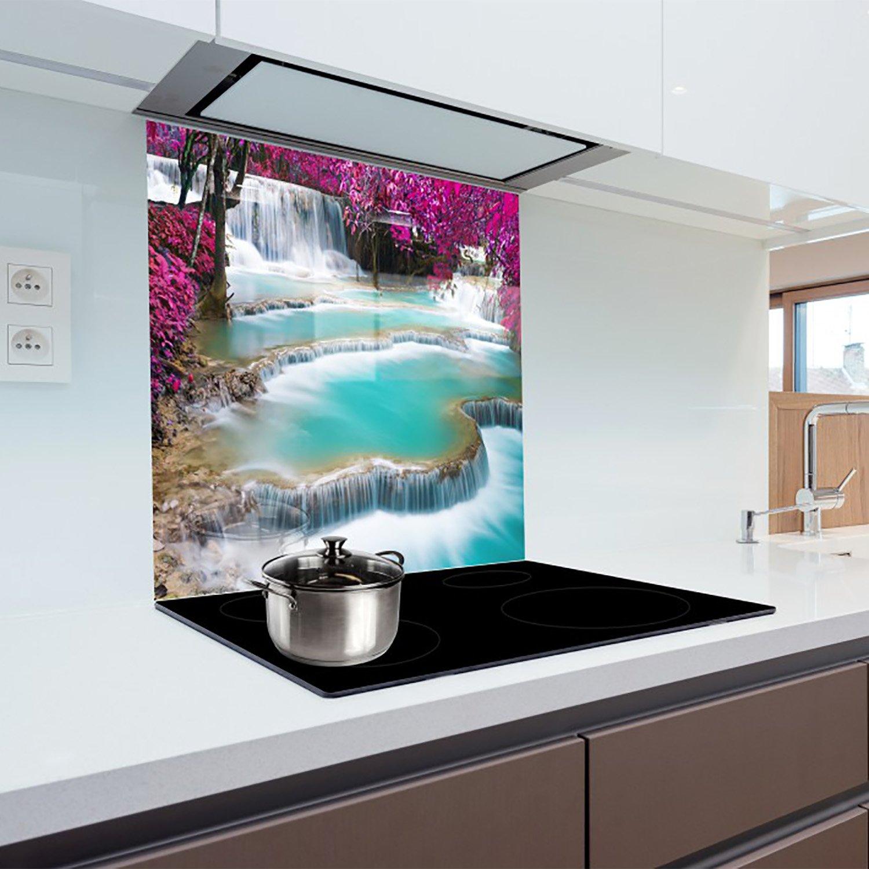 1836 Kitchen Glass Splashback Heat Resistant Toughened Glass 60x65 cm graphic no