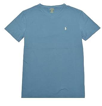 673e84fc Image Unavailable. Image not available for. Color: Polo Ralph Lauren Men's  Classic Fit V-Neck T-Shirt Cotton (M,