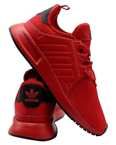 competitive price 25067 38b6b Amazon.com | adidas Kids X PLR J Sneaker (Big Kid) - Red ...