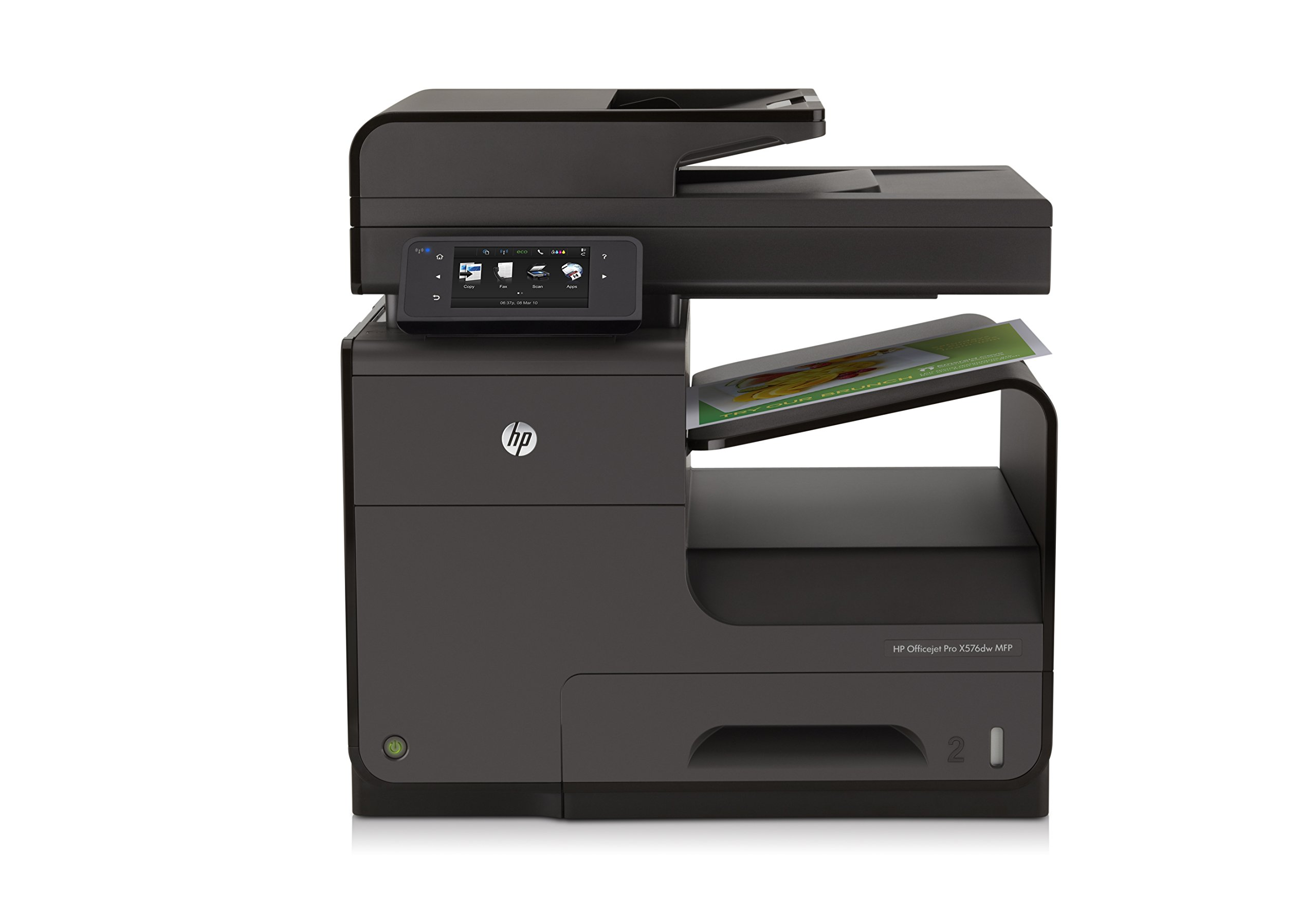 HP OfficeJet Pro X576dw Office Printer with Wireless Network Printing, Remote Fleet Management & Fast Printing (CN598A) by HP