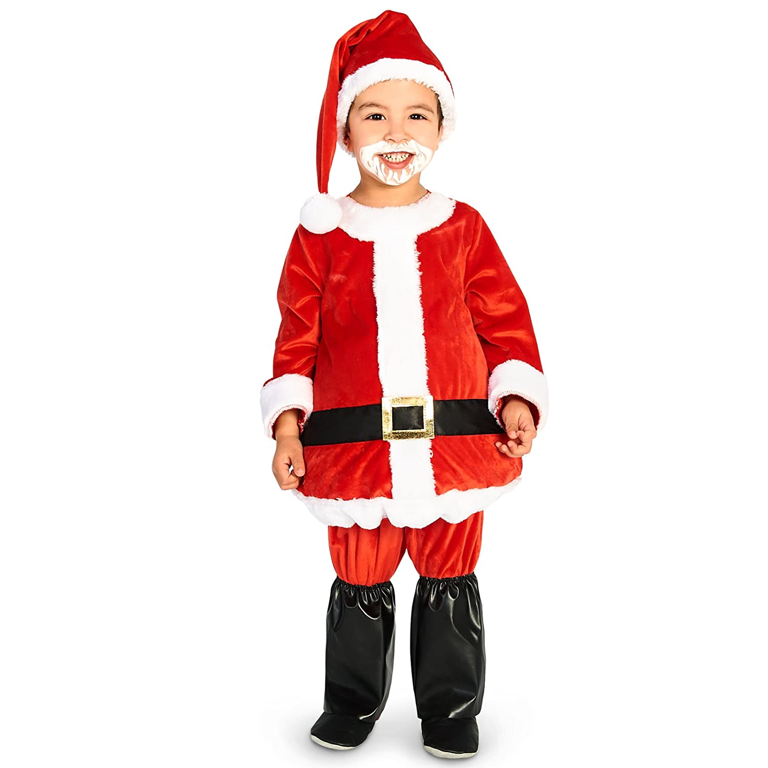 1d84fee5cfa9f Amazon.com  Leadtex - Jolly Belly Toddler Santa Suit - 2-4T  Clothing