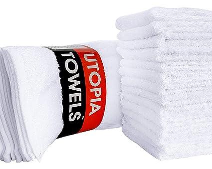 Toallas Toallitas Utopia (Paquete de 24, 30 x 30 cm) Paño de lavado