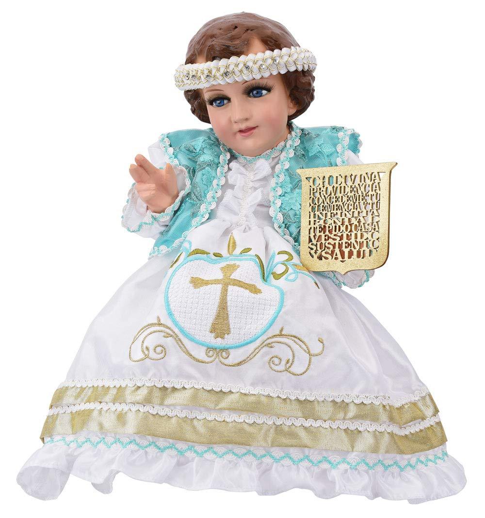 Niño De la Divina Provedencia, Traje de Niño Dios. Baby Jesus Outfit. (50cm)