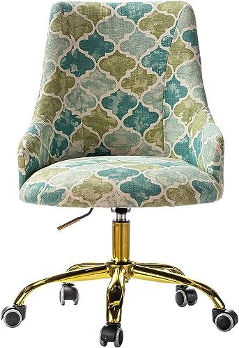 Office Chair Upholstered Modern Wheel Swivel Task Chair