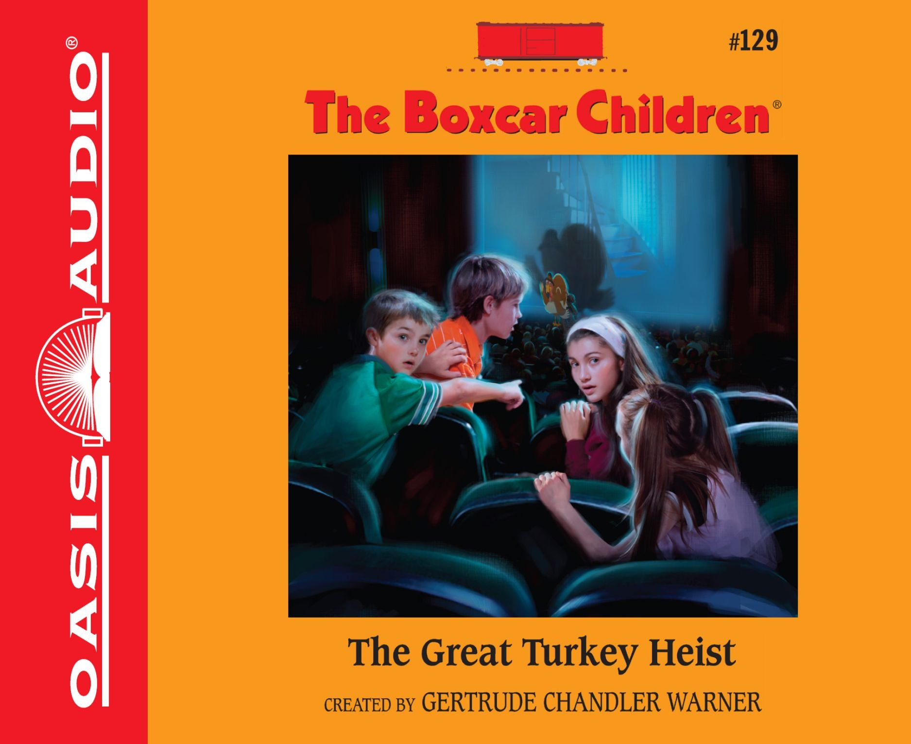 The Great Turkey Heist (Library Edition) (The Boxcar Children Mysteries)