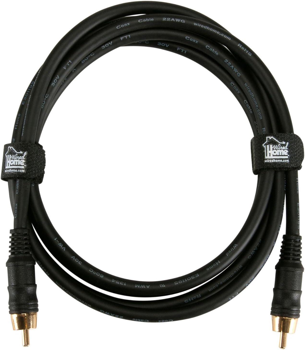 Audtek Single RCA Audio//Video Cable 18 ft.